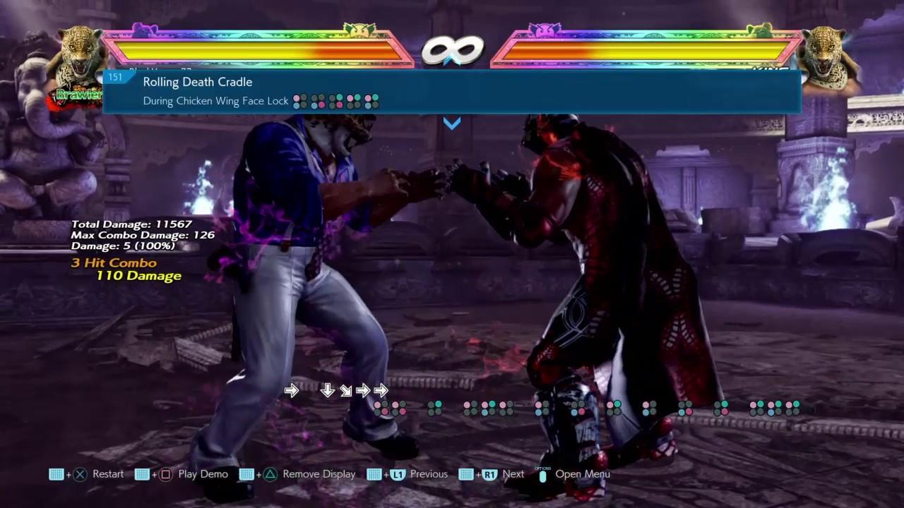 Tekken 7 King Grab Strings Tutorial For Controller Pad Super Easy Youtube
