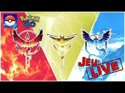 LE CHOC DES TITANS EN LIVE (FULL HD) !! - LIVE GAME #1 - POKEMON GO