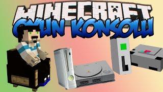 Minecraft : Eğlenceli Mod Tanıtımı : OYUN KONSOLU MODU ! : PS4,Xbox One ve Fazlası!