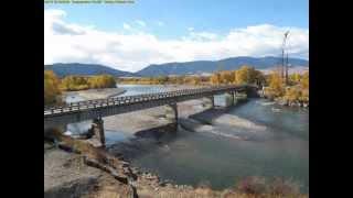 Yellowstone River Bridge - Time lapse construction
