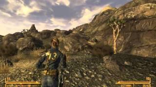 Fallout New Vegas. 1 Уровень. Получаем в напарники ЭД-Э