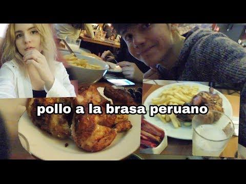 Como es el pollo a la brasa en PERÚ  (Venezolanos en Perú)