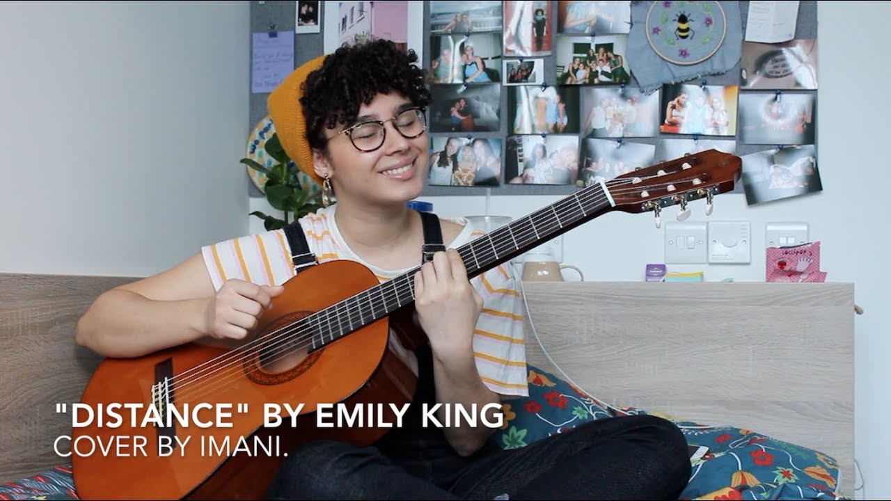 distance by emily king [cover by imani  + VLOG? I GUESS SO!]