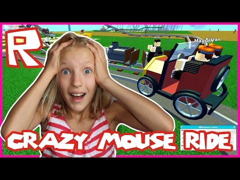 Theme Park Tycoon / Crazy Fun Mouse Ride / Roblox