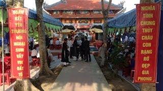 Lễ khánh thành nhà thờ họ Hoàng Kim KP Phường Đông Giang TP Đông Hà tỉnh Quảng Trị