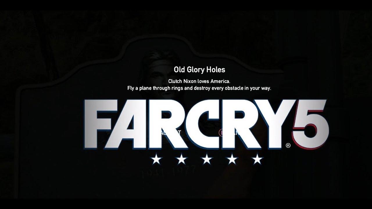 Far Cry 5 - Clutch Nixon - Old Glory Holes Gameplay Walkthrough