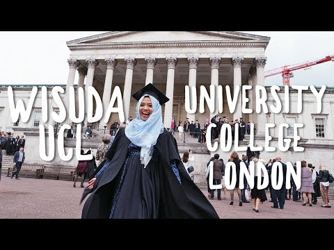 Wisuda Indah di UCL University College London