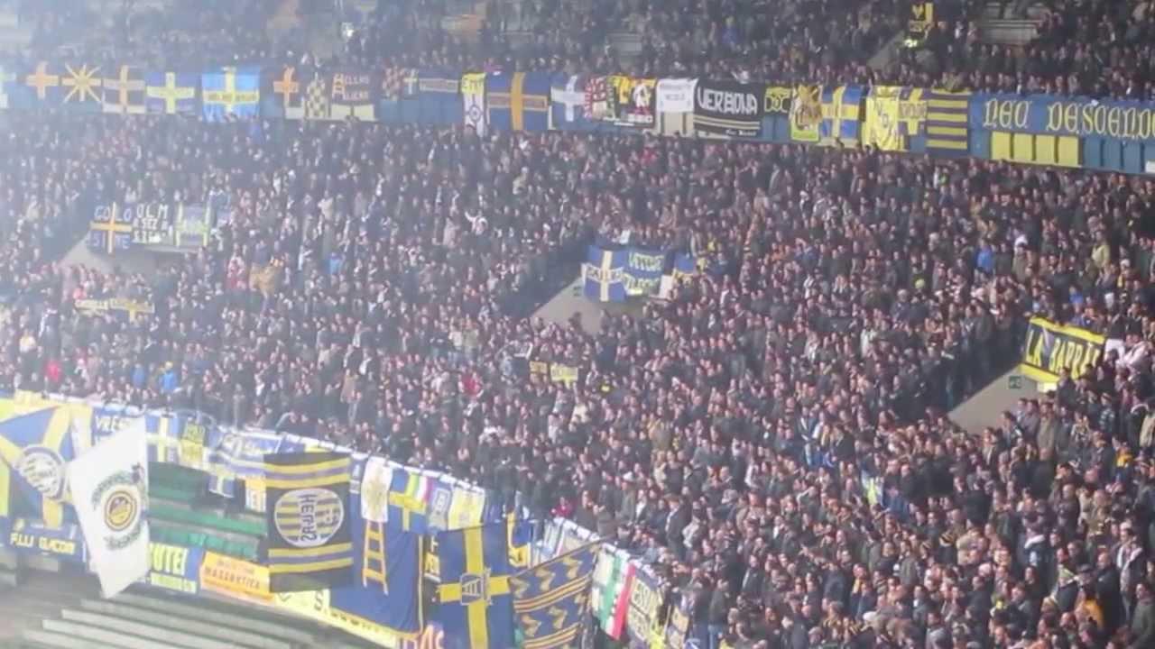 Hellas Verona - Lazio 4-1 Tifo Ultras Curva Sud Verona ...