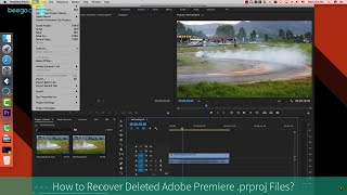 How to Recover Deleted .prproj Files (Adobe Premiere)?