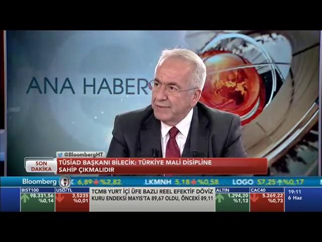 TÜSİAD Yönetim Kurulu Başkanı Erol Bilecik BloombergHT ana habere konuk olarak değerlendirmelerde bulundu