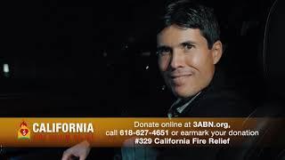 """03 - 3ABN California Fire Relief - """"Arrival in California"""""""