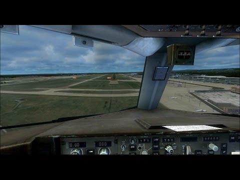 【FSXᴴᴰ】BOEING 757-200 LANDING AT FRANKFURT | As Real As It Gets | 2014