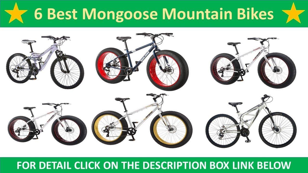 6 Best Mongoose Mountain Bikes Reviews | Mongoose Mountain Bikes 2018