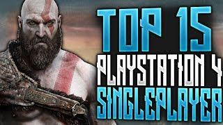 Top 20 BEST PS4 Single Player Story-Driven Games | 2020