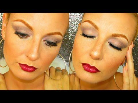 C mo maquillarse paso a paso en rosa y gris productos - Como maquillarse paso a paso ...