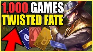 I Played 1,000 Twisted Fate Games, Here's What I Learned. (League of Legends)
