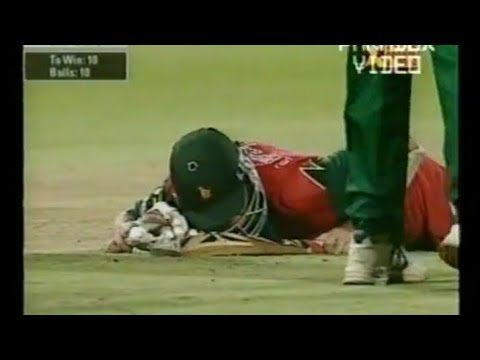 Zimbabwe BEAT South Africa in a THRILLING Game !!! | Standard Bank Tournament | Durban, 2000