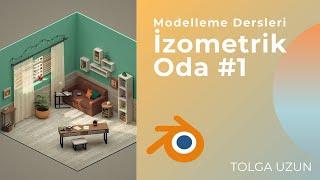 İzometrik Oda Modelleme #1 - Blender Eğitim