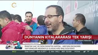 Vodafone İstanbul Maratonu'nda renkli kareler