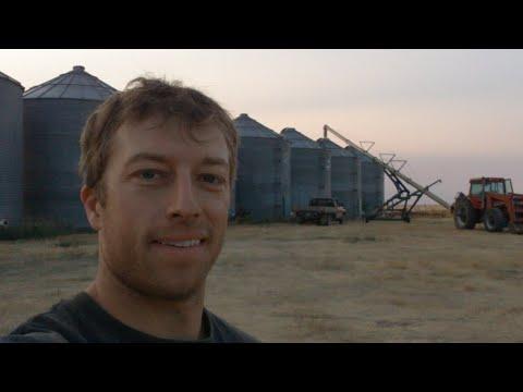 🔴Live - Moving Unloading Setup To The Next Grain Bin!