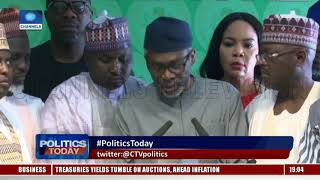 Political Round Up Buhari meets VP osinbajo, APC Governors Politics Today