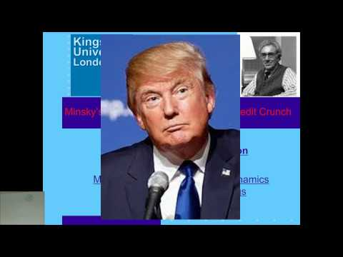 Kingston Contemporary Issues Lecture 6 Minsky and explaining the Global Financial Crisis