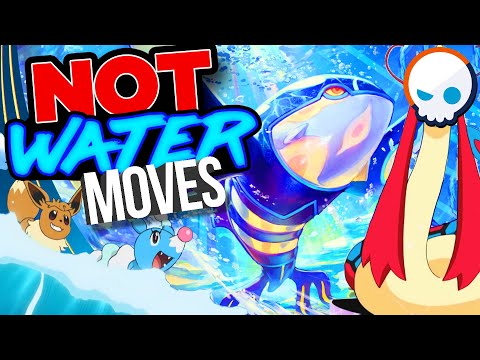 EVERY Water Type Move In Pokemon EXPLAINED!   Gnoggin