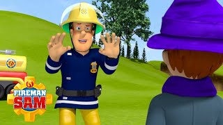Sam Rescues a Wizard! | Fireman Sam Official | Cartoons for Kids