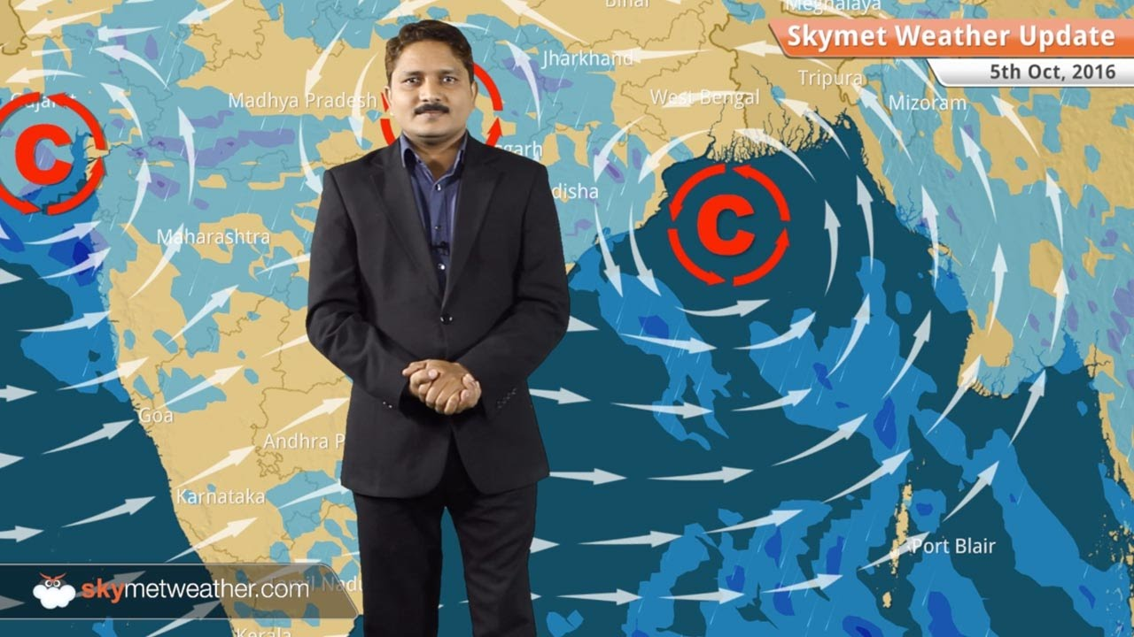 Weather Forecast for Oct 5: Good rains in Gujarat and Konkan
