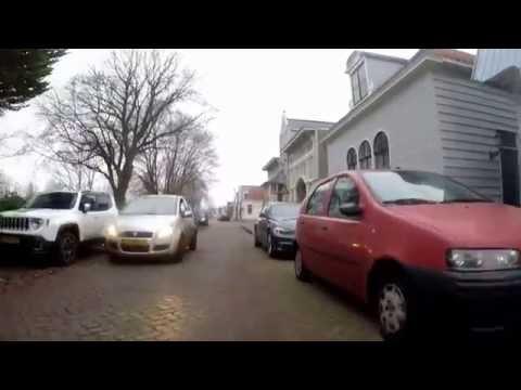 Amsterdam noord.  Buiksloterdijk     10-12- 2016.  Gopro hero 5.