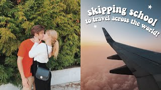 traveling across the world to see my boyfriend | long distance relationship