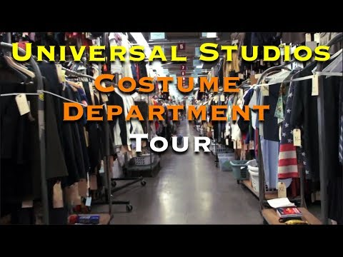 Universal Studios Costume Department Tour - Universal Studios Hollywood