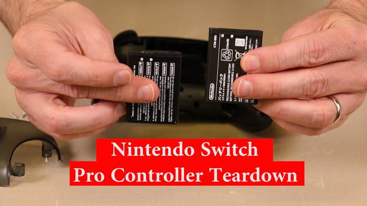 Nintendo Switch Pro Controller Teardown
