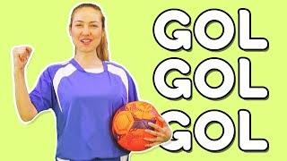 Ben Futbolcuyum Gol Atarım - Meslekleri Öğreten Çocuk Şarkısı