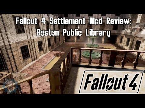 Fallout 4 Settlement Mod Review: Boston Public Library