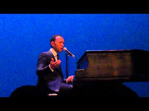 John Legend teaching FSU how he creates music