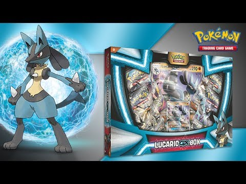 Every Pokémon TCG Product: Lucario-GX Box