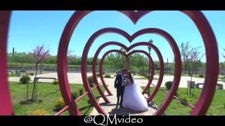 Свадьба Давида и Гаяны. Армавир. Съемка с квадрокоптера. QM video