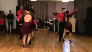 Toronto Dance Salsa - Debut Bachata Performance of Pro/Am Team