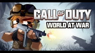 Minecraft PE- Call of duty:World at War- Official trailer
