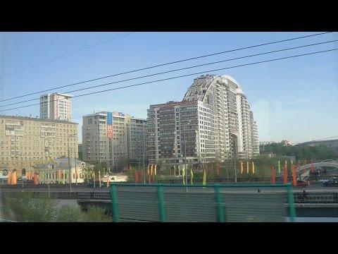. Люберцы-Москва-Казанский вокзал. Поездка на поезде Сура