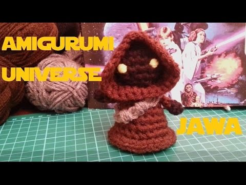 Amigurumi Star Wars Patterns : Star wars tutorial jawa de amigurumi.universe. english jawa pattern
