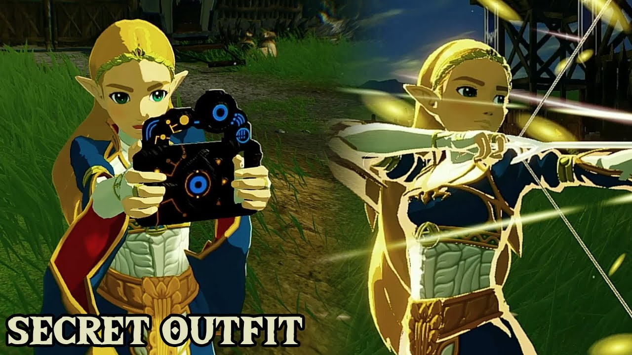 Secret Zelda Outfit Hyrule Warriors Age Of Calamity Youtube