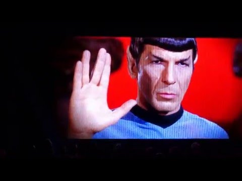 Star Trek Beyond Fan Event: Leonard Nimoy Tribute Video