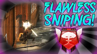 FLAWLESS SNIPING! - Black Ops 2 PC Nuclear - (Call of Duty: Black Ops 2 Multiplayer)
