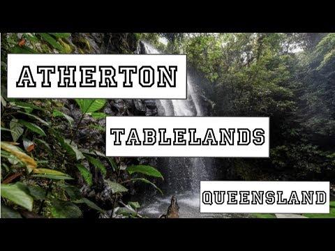 Atherton Tablelands Waterfalls Cairns | Barefoot Tours - Nicola's Travel Vlog #7