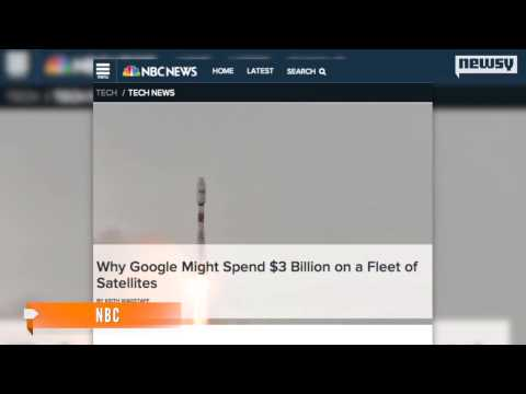 Google Plans Satellite Network For Global Internet Access