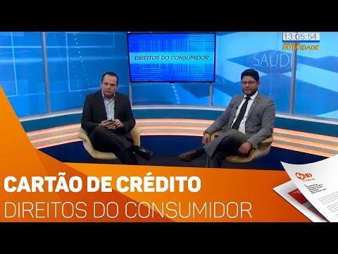 Direitos do Consumidor: Cartão de crédito - TV SOROCABA/SBT