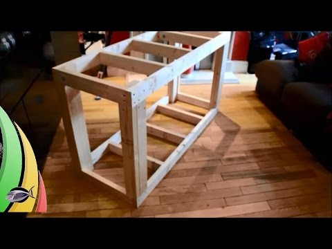 How To Build A Fish Tank Stand: Part 2 Wrapping