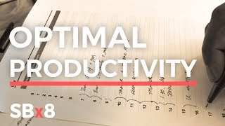How To Plan Your Day to Achieve Goals and Stay Focused 2018 (REAL LIFE EXAMPLE) SBX8